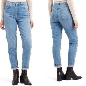 Topshop Moto Mom/Boyfriend Denim Jeans 28x30